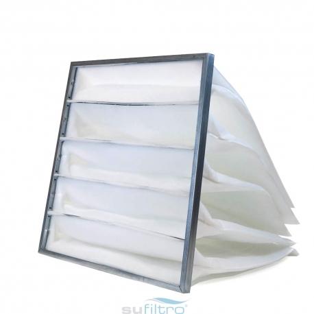 Filtro de bolsa flexible eficacia G4