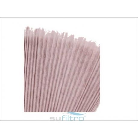 Filtro Cartón Plegado (con Fibra Sintética) SU/CPMS (Paint Stop)