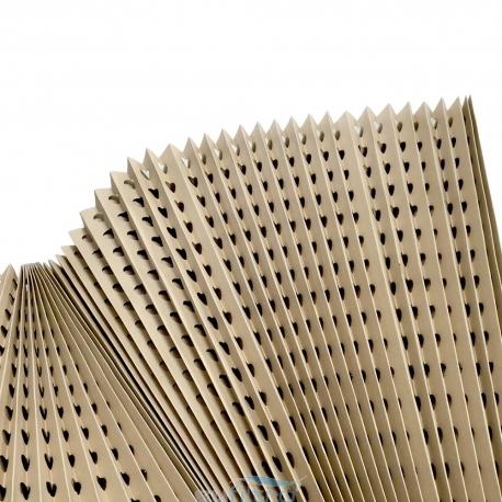 Filtro Cartón Plegado Marrón