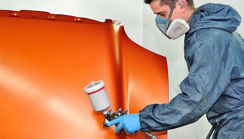 Filtros para cabinas de pintura